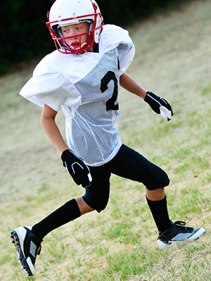 heel pain in youth athletes