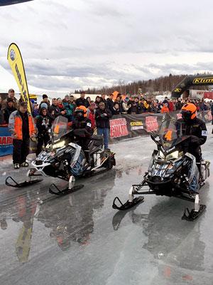Team 4 restart Big Lake Alaska article
