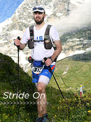 Dr. Jared Kern completes Eiger Ultra Trail race